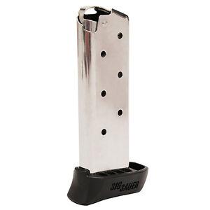 SIG-Sauer-P238-380-ACP-7-Round-X-Grip-Steel-OEM-Magazine-MAG-238-380-7-X