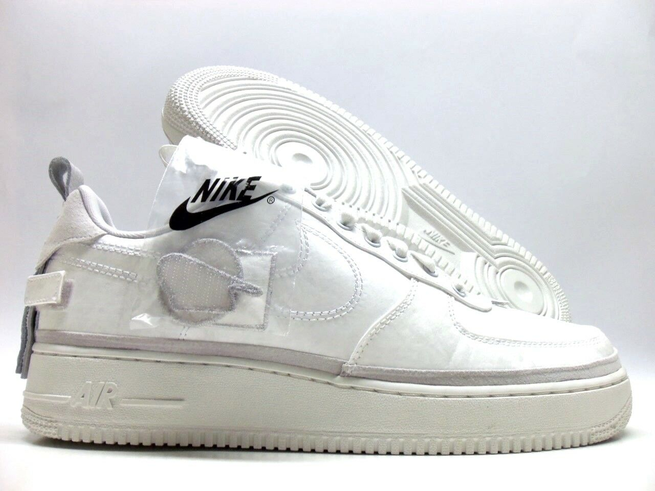 NIKE AIR FORCE 1 '07 AS QS ALL STAR VAST GREY WHITE SIZE MEN'S 12 [AH6767-001]