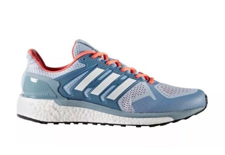 ADIDAS BOOST  RUNNING WALKING CASUAL SHOES WOMEN 9 blueE SUPERNOVA SEQUENCE  team promotions