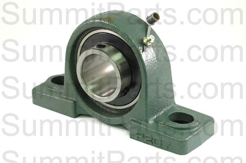 """SUCSP205-16 1/"""" Stainless Steel Pillow Block Bearing w//2 SS Double Split Collars"""