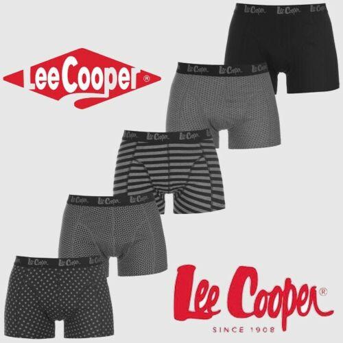LOT DE 5 BOXERS LEE COOPER COLLECTION 2020 DU S AU XXL