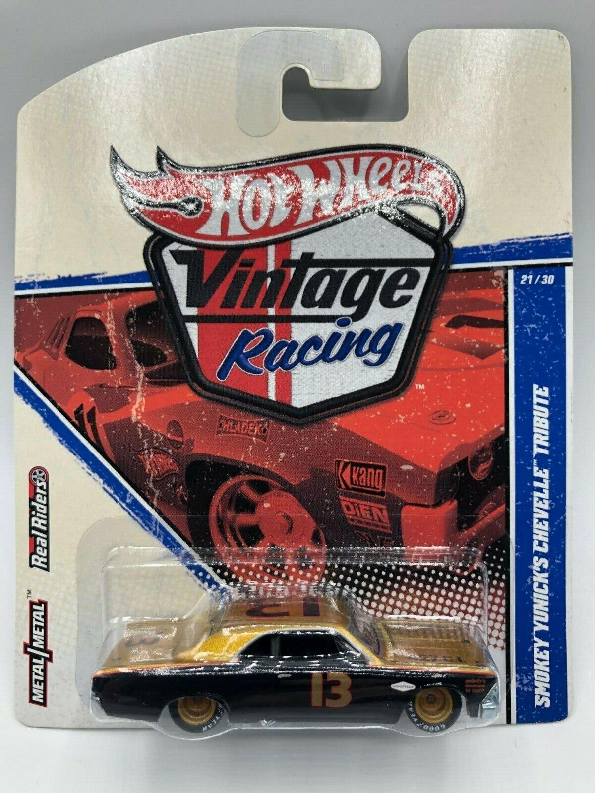 Hot Wheels Vintage Racing Smokey Yunick's Chevelle, Very Rare NIBP