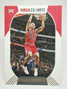Panini Hoops 2020-21 N29 card NBA base #28 Wendell Carter Jr. Chicago Bulls