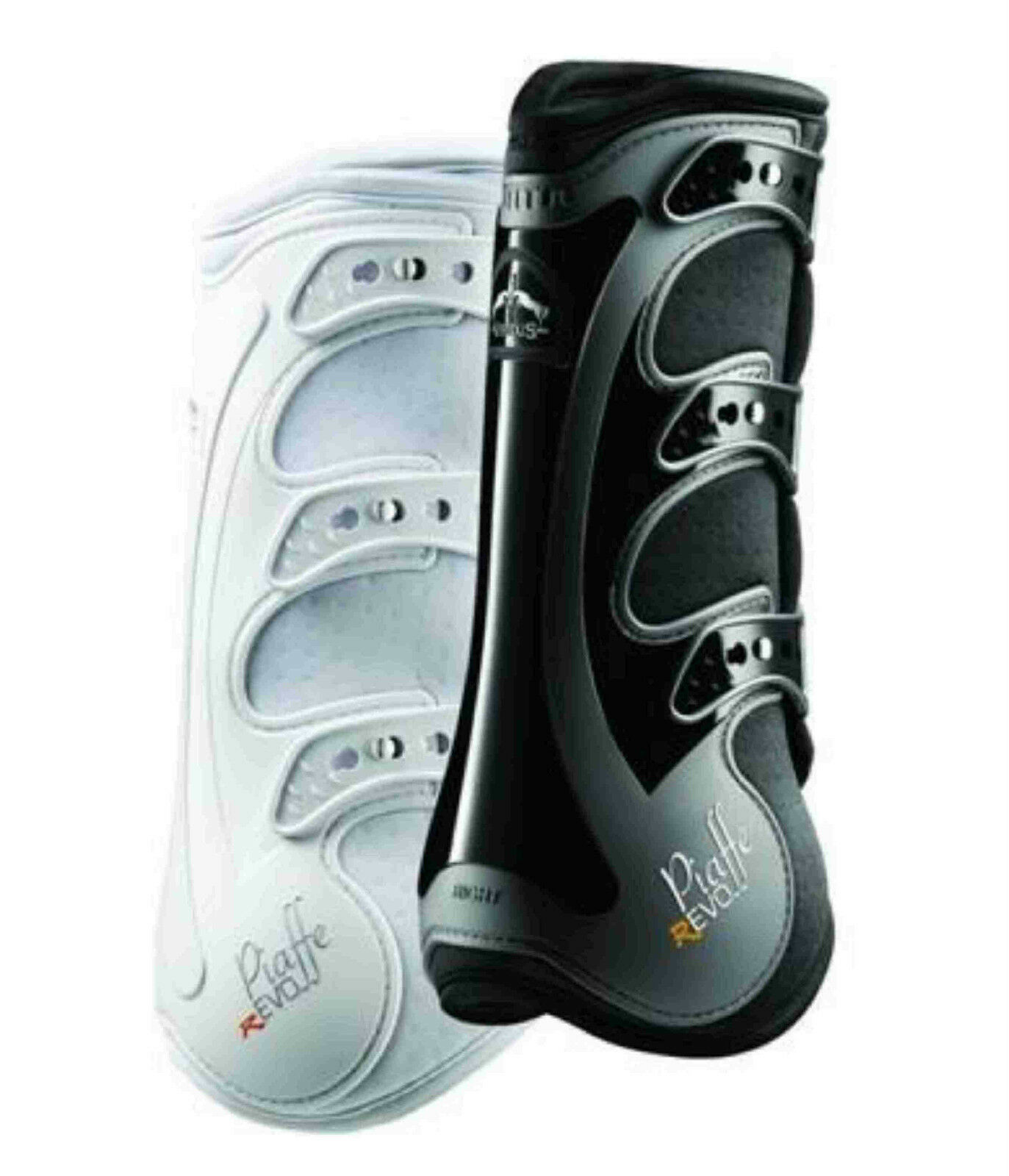 VeROTus Piaffe Revo X-Flex Dressage Stiefel - REAR - Support + Protection  OFF