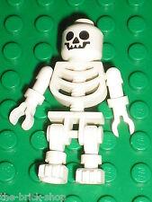 Squelette LEGO Minifig Skeleton Skull 82359 / Set 5986 7623 7199 8108 6232..