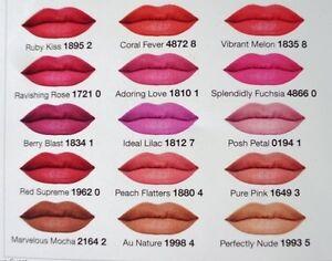 Avon True Colour Perfectly Matte Lipstick Full Size Lipstick Ebay