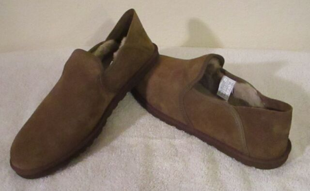 8a6f228f778 UGG Australia Cooke Mens Loafers Slippers Shoes 8 Dark Chestnut