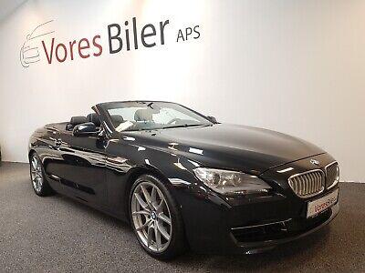 Annonce: BMW 650i 4,4 Cabriolet aut. - Pris 549.900 kr.