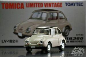 TOMICA LIMITED VINTAGE LV-182a 1//64 SUBARU 360 CONVERTIBLE 1960 Ltd Japan