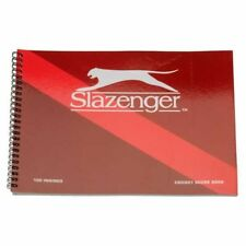 Slazenger 100 Innings Cricket Score Book - Brand New, Free Delivery