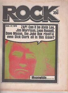 SEPT 28 1970 ROCK music magazine JIM MORRISON - DICK CLARK