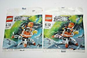 2 ct Poly Bags Lego Mini Mech (30230) Galaxy Squad