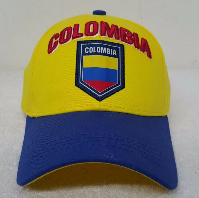 Colombia Soccer Hat Cap New With Tags by Rhinox OSFM 100% Cotton e85e53f5377