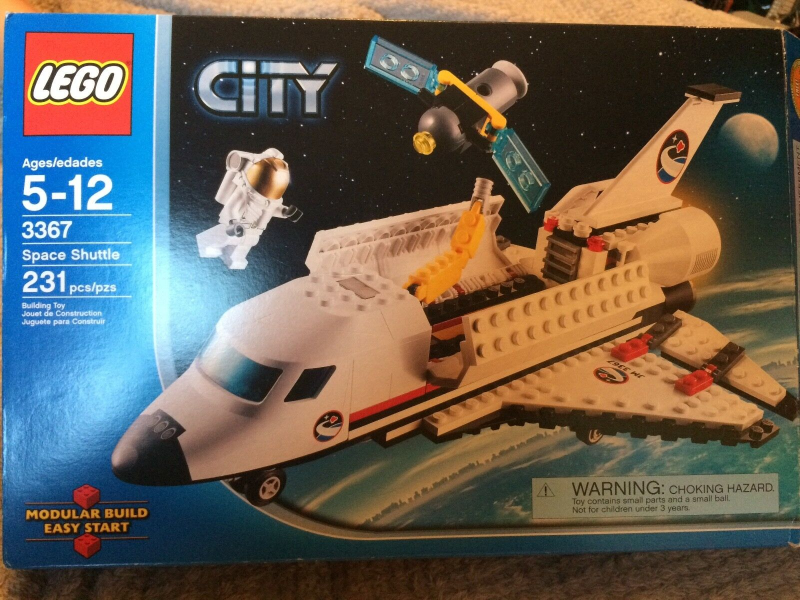 LEGO 3367 SPACE SHUTTLE RETIROT Great Condition In Original Box