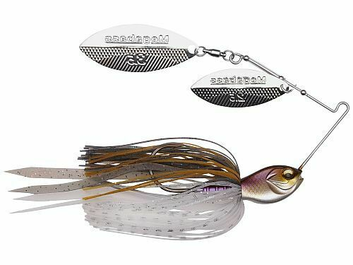 Double-Willow Blade Spinnerbait Select Color Megabass SV-3 1//2 oz