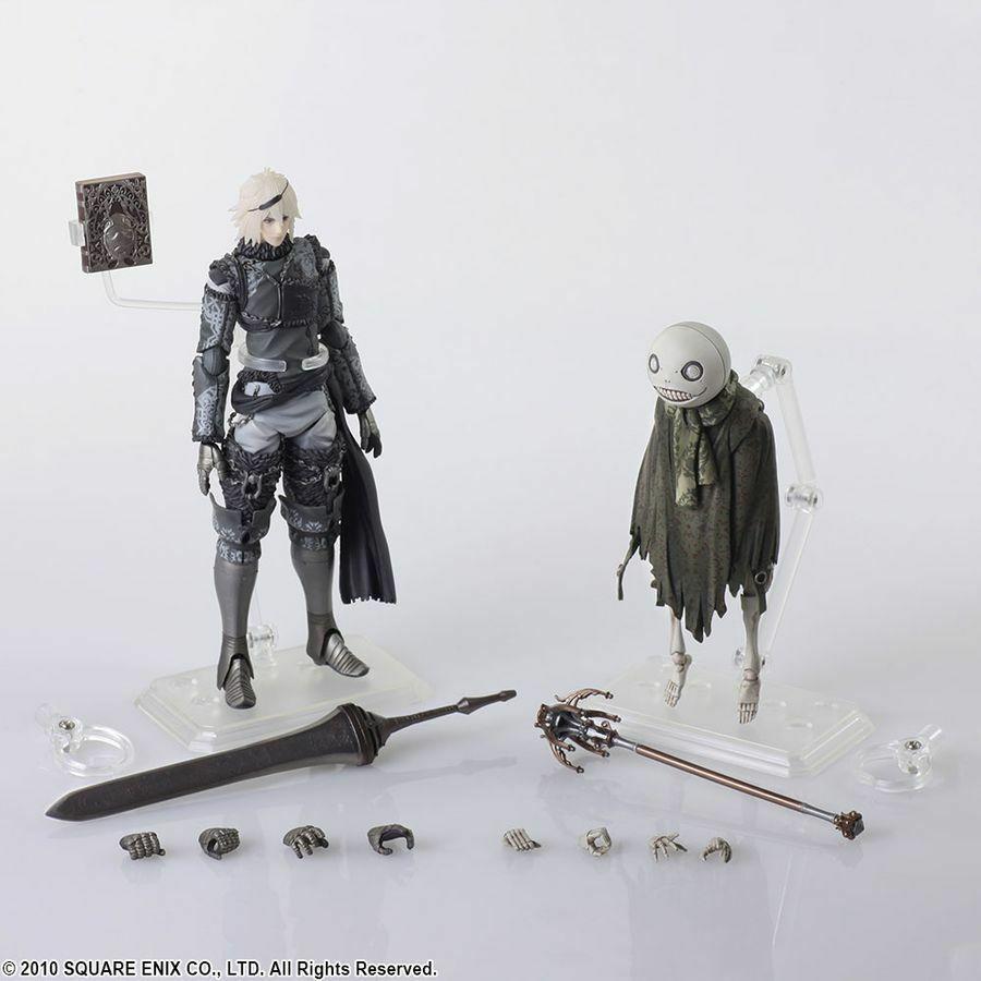 Nier  Replicant - Nier & Emil Bring Arts Acción Figuras Set-SQU82614-SQUARE ENIX