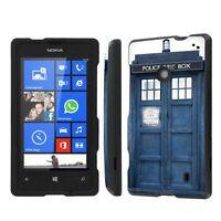 Nokia Lumia 635 Total Armor Cover Design Hard Case - Blue Phone Box