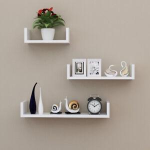 Set-of-3-U-Shape-shelves-Floating-Wall-Shelve-Home-Decor-Storage-Wood-Shelf-Unit