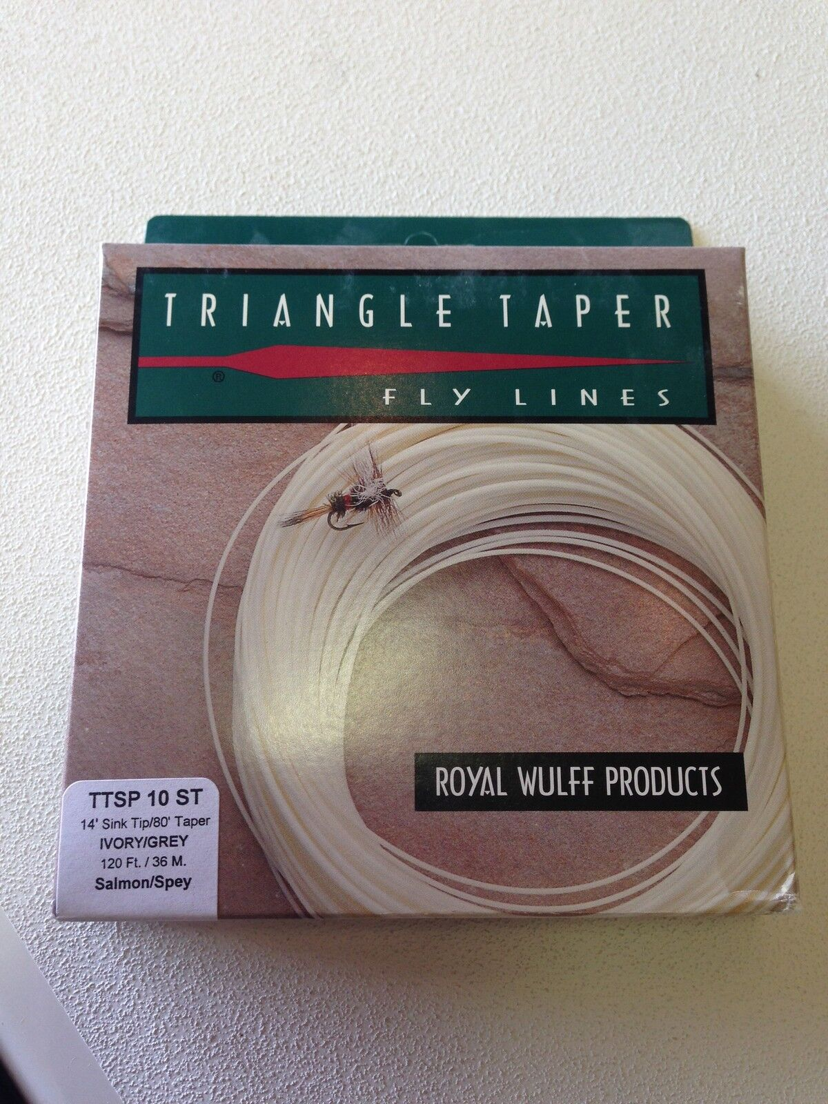 50% OFF Royal Wulff Triangle Taper Spey Fly Line 10 Weight Sink Tip 80 Ft