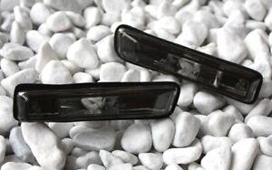 Verre Clair Chrome Clignotants Latéraux, Kit BMW E36 96-99 3er Noir Neuf