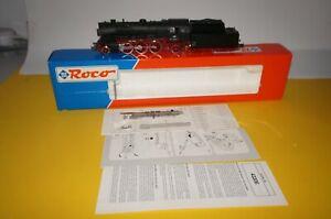 RF30-Roco-43249-H0-Locomotora-Br-23-105-De-DB-Epoche-3-Top-Conservado-En-Ovp