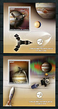 Congo 2016 MNH Juno Jupiter Orbit 2x 1v S/S Space Stamps