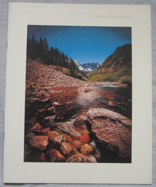 1999 Jeep Cherokee Brochure Pubblicazione Numero Mk22200001 Prestazioni Superiori