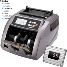 Money Counter Uvmgir Counterfeit Detection Bill Counting Machine With Addbatch