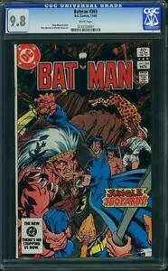Batman-365-us-DC-1983-Highest-CGC-Graded-COPY-CGC-9-8-Comme-neuf