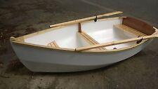 DIY Plans for RYE BAY 228 Rowing/Motor/Sailing Dinghy - full printed plans