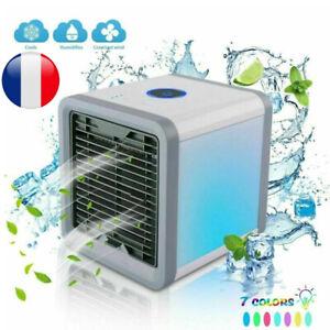 Rafraîchisseur D'air Climatiseur Ventilateur Humidificateur Usb Autonome Mini Fr Haut Niveau De Qualité Et D'HygièNe