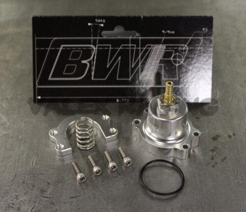 Blackworks Racing Adjustable Fuel Pressure Regulator Honda Acura Silver