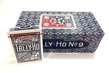 TALLY HO #9 Playing Cards 12 Decks Fan Back Original