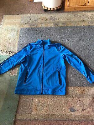 100% Wahr Sporttrainingsjacke Blau Größe Xl