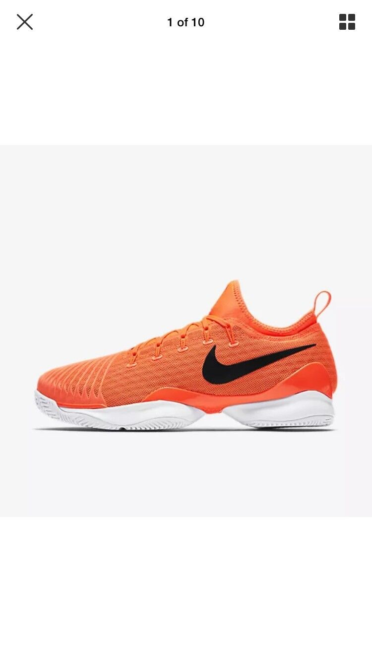 Nike Air Zoom Ultra React Tennis Unisex 5.5 Tart/white  859719-801 Men's 5.5 Unisex Wmns 7 dcbca2