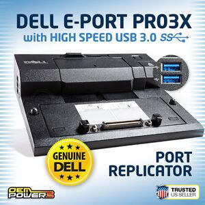 DELL-Docking-Station-M4800-M6400-M6500-M6600-M6700-E-Port-Replicator-USB-3-0