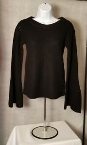 Calypso-St-Barth-Womens-Black-Paltina-Sweater-100-Cashmere-XS-S-M-LNWT-MSRP-375