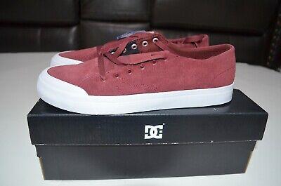 DC Evan Lo Zero S Skate Maroon Shoes