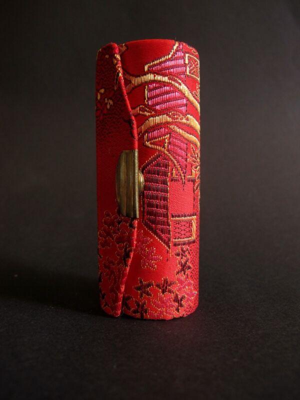 Lippenstift Behälter Rot Aus Asien 8,3 Cm Lang Neuwertig