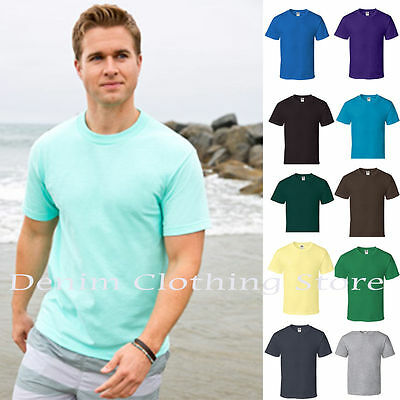 SINGLE OR LOT ALSTYLE APPAREL AAA SHORT SLEEVE PLAIN SOLID T-SHIRTS SIZE S-5XL