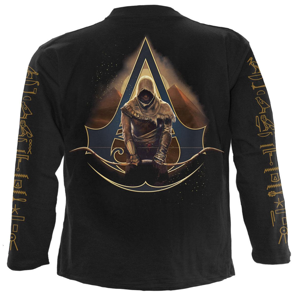 SPIRAL ORIGINS - BAYEK - ASSASSINS CREED Long Sleeve T-Shirt-Longbow-ANUBIS