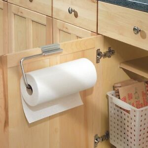 Interdesign 29750 over the cabinet paper towel holder for Best shelf paper for kitchen cabinets