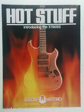 retro magazine advert 1984 ELECTRA WESTONE X190SS