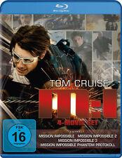 4 Blu-rays *  MISSION IMPOSSIBLE - M:I 4-MOVIE SET - Tom Cruise # NEU OVP +