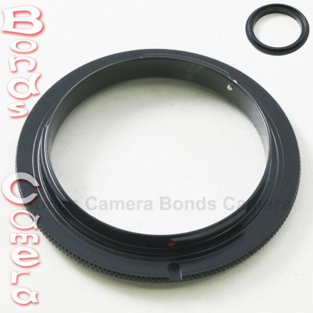 58 MM 58MM Macro Reverse Lens Adapter Ring For Sony Alpha AF A mount DSLR camera
