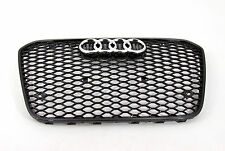 Audi A6 S6  RS6 Style front grille gloss black mesh titanium style 12 13 14 15