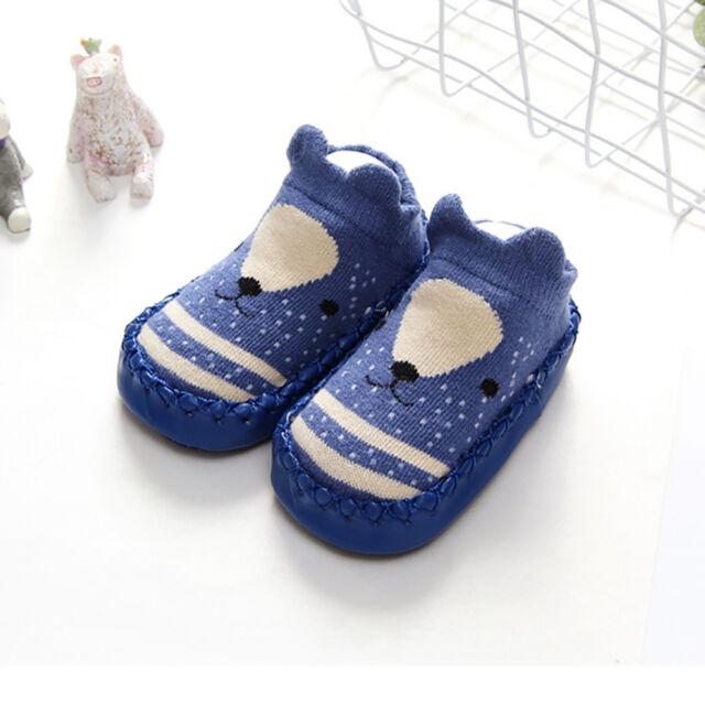 c6a67ef5bc47 Cartoon Animal Baby Girl Boy Newborn Toddler Infant Soft Socks ...