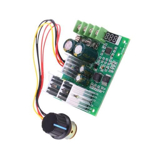 30A DC6-60V PWM Motor Speed Controller Board Dimmer Current Regulator Display