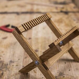 Modern-Collodion-Solid-Oak-Wet-Plate-Drying-Rack