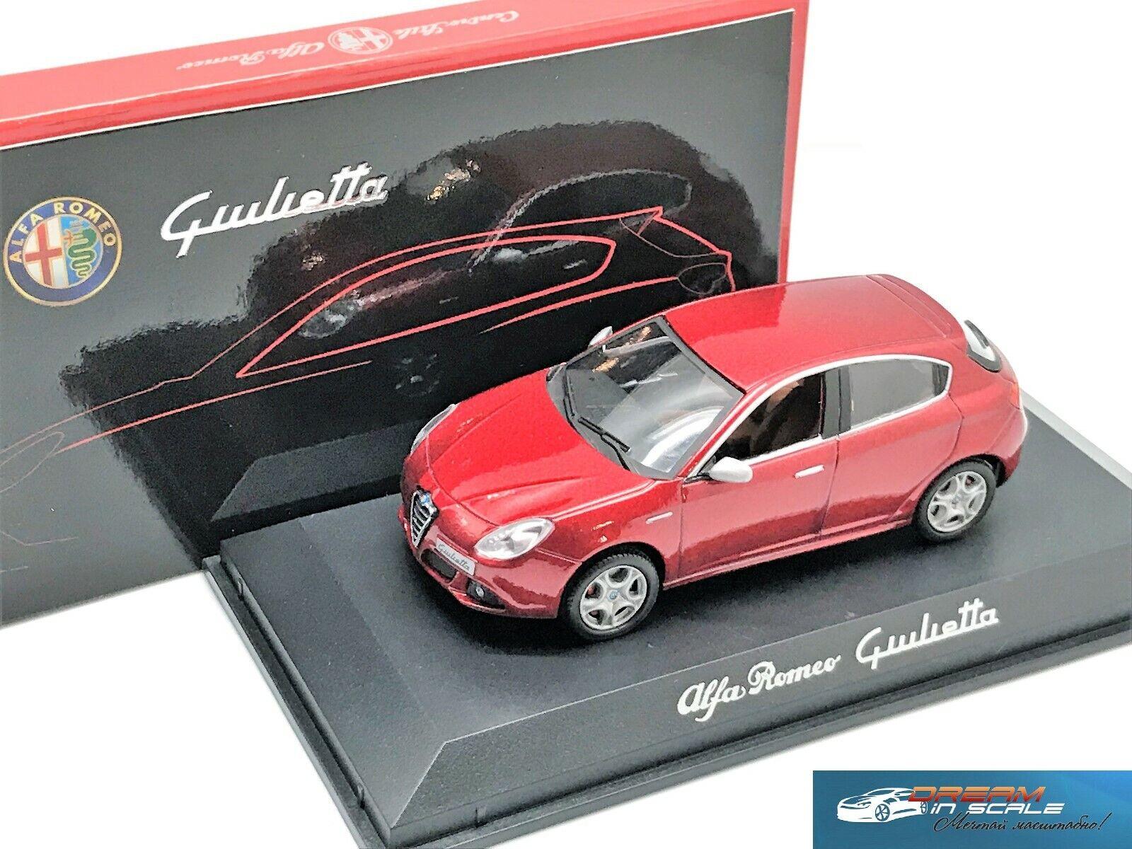 Alfa Romeo Giulietta 2010 rosso Metálico Norev 790041 1 43